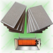 Infrared Ceramic Burning Plate for Gas heater